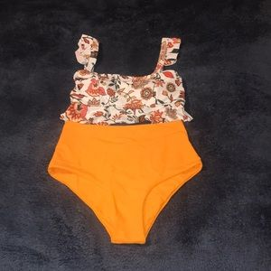 ZAFUL two piece bathing suit. Size Small.